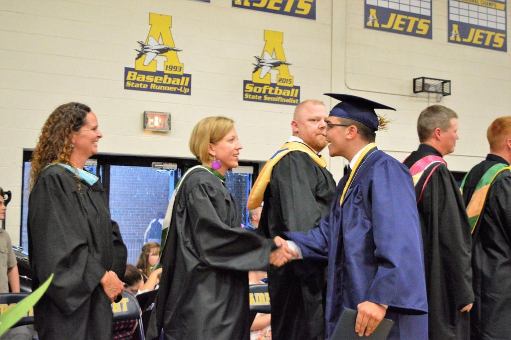 Staff and Graduates