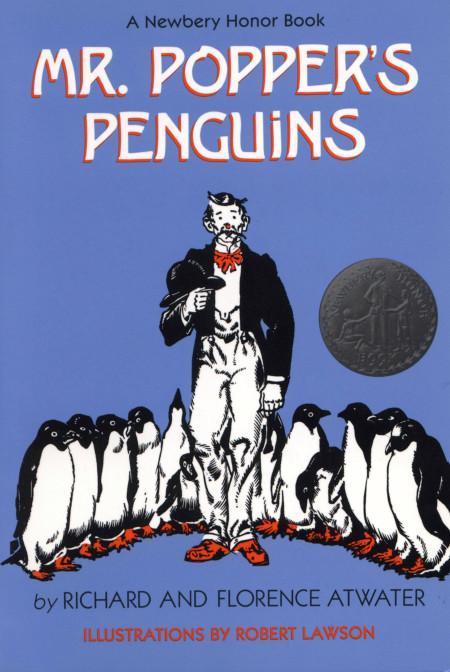 Book Called Mr. Popper's Penguins