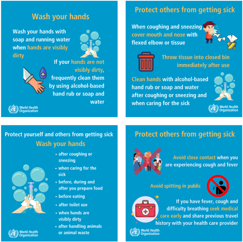 World Health Organization Safety tips