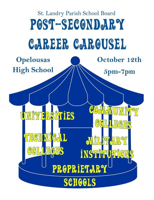Post Secondary Career Carousel Flyer