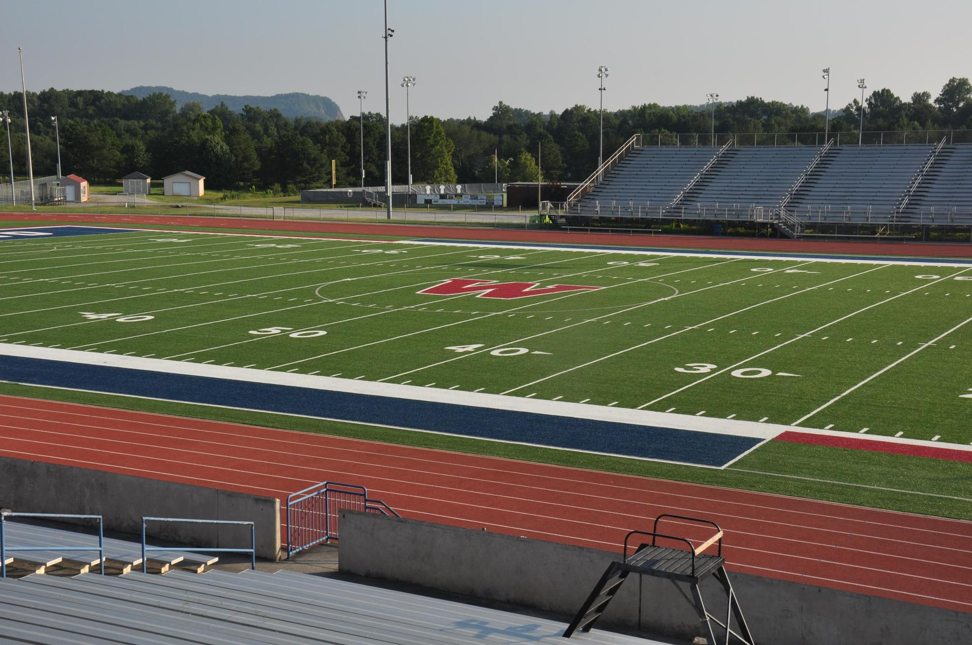 Woodland High School Football Field