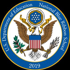 blue ribbon school seal