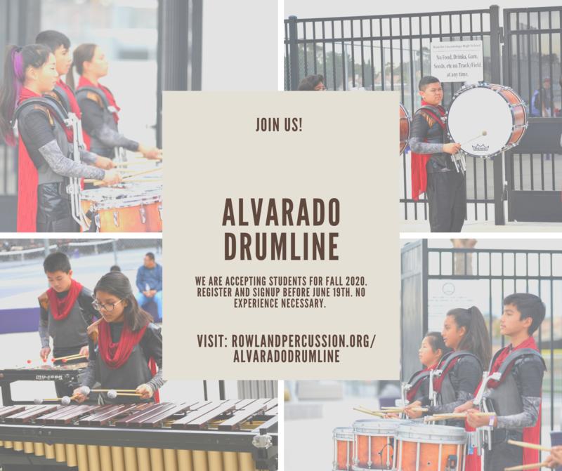 Alvarado Drumline