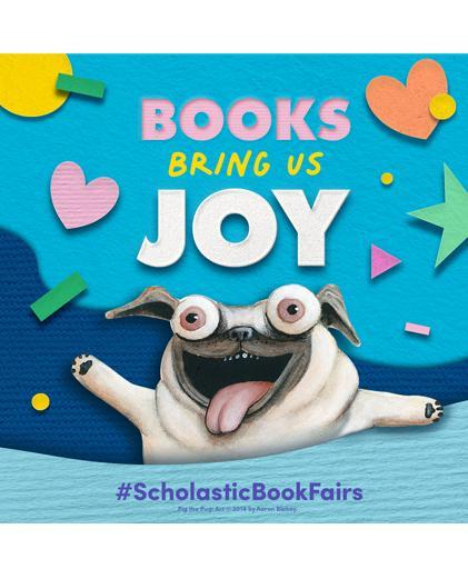 Book Fairs Bring us Joy!