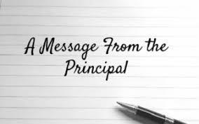 Important Back to School Info from Principal Rose Ahrens Thumbnail Image