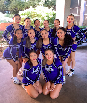 NCA Cheer squad