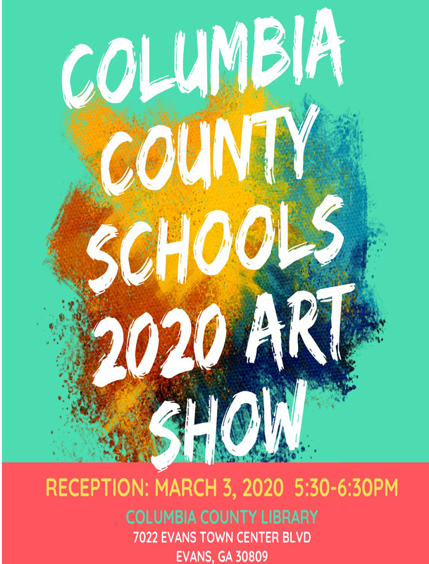 CCSD art show info flyer