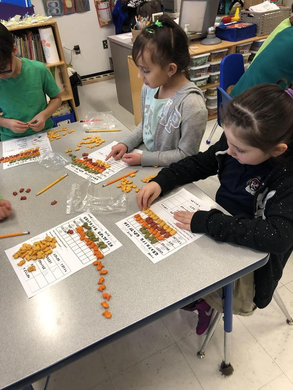 kids counting fishes after reading one fish two fish