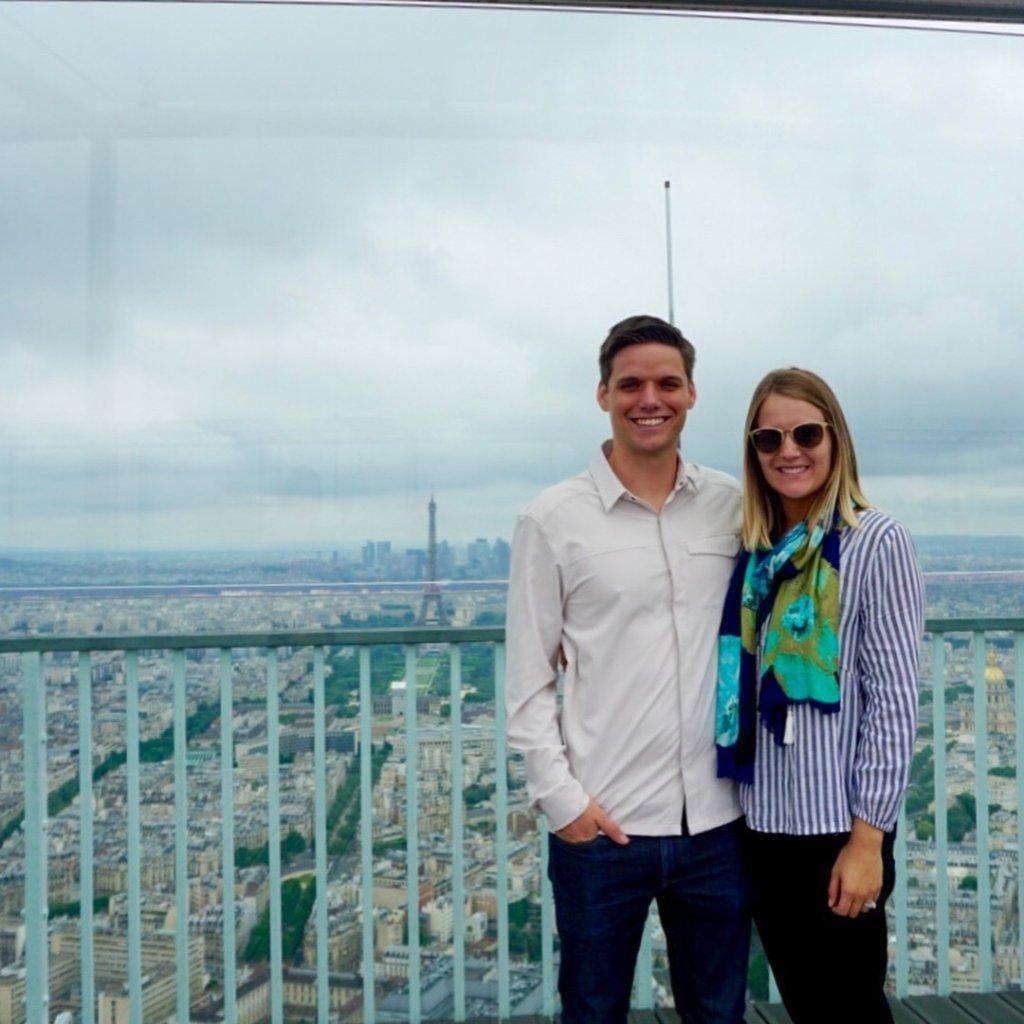 Mrs. Summers and Mr. Summers in Paris, France