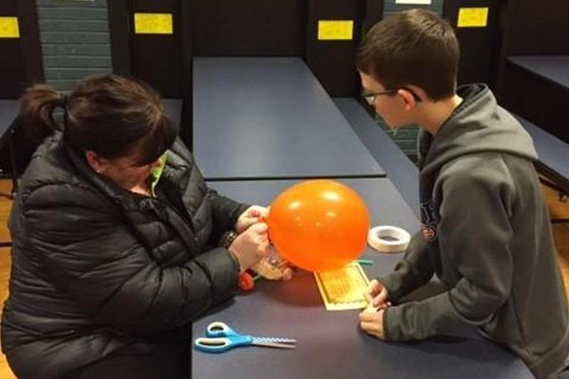 Families enjoy STEM Night at Southwest! Thumbnail Image