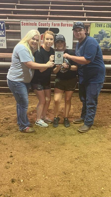 Butner Livestock judging team placed Reserve Champions in livestock judging at the Seminole County Fair Featured Photo