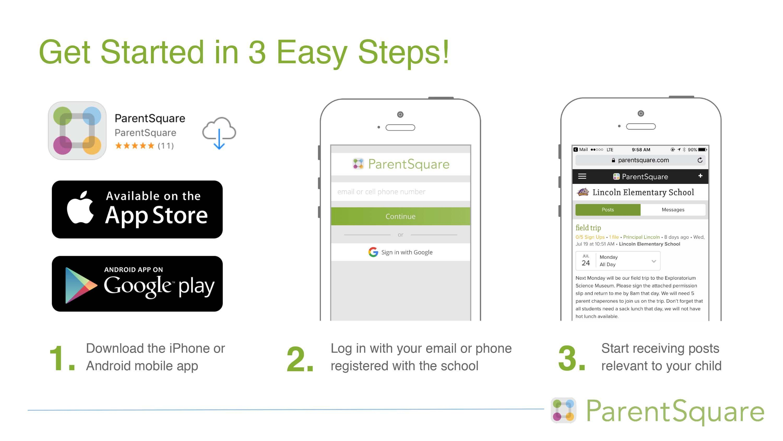 3 Easy Steps