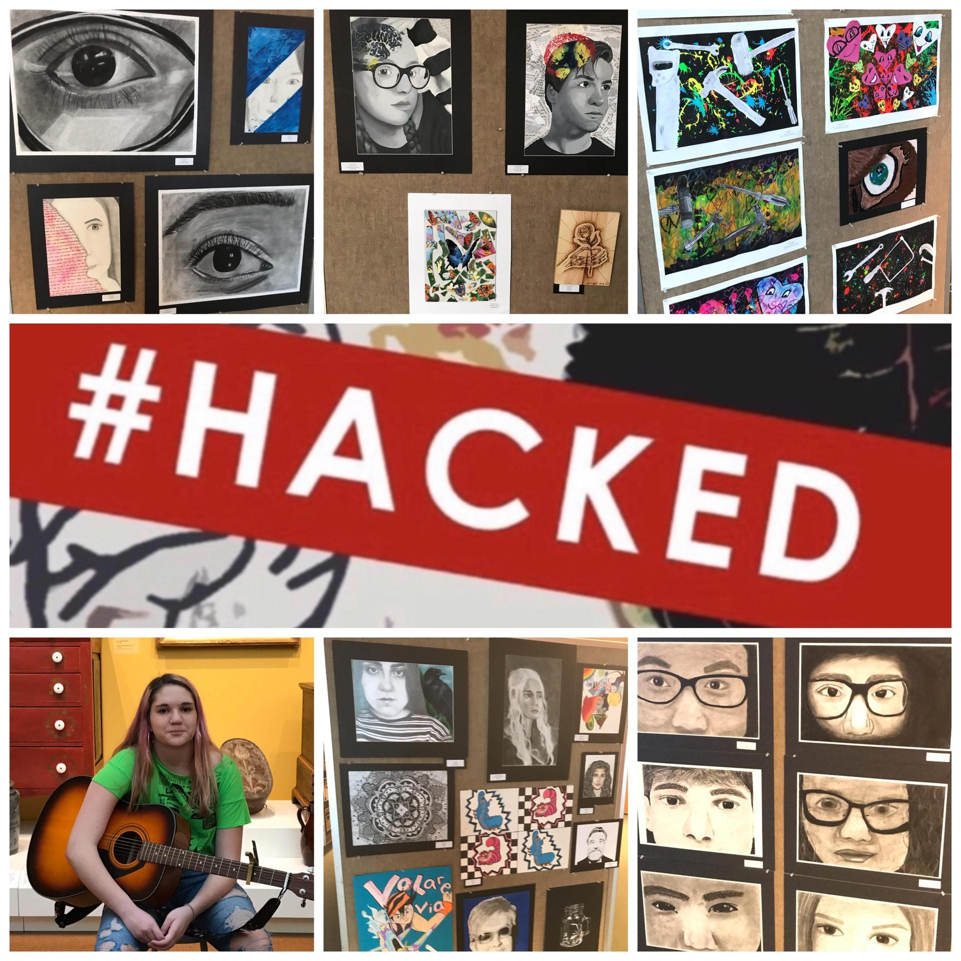 #HACKED artshow