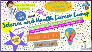 Science and Health Career Virtual Camp