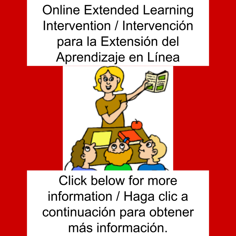Online Extended Learning Intervention / Intervención para la Extensión del Aprendizaje en Línea Featured Photo