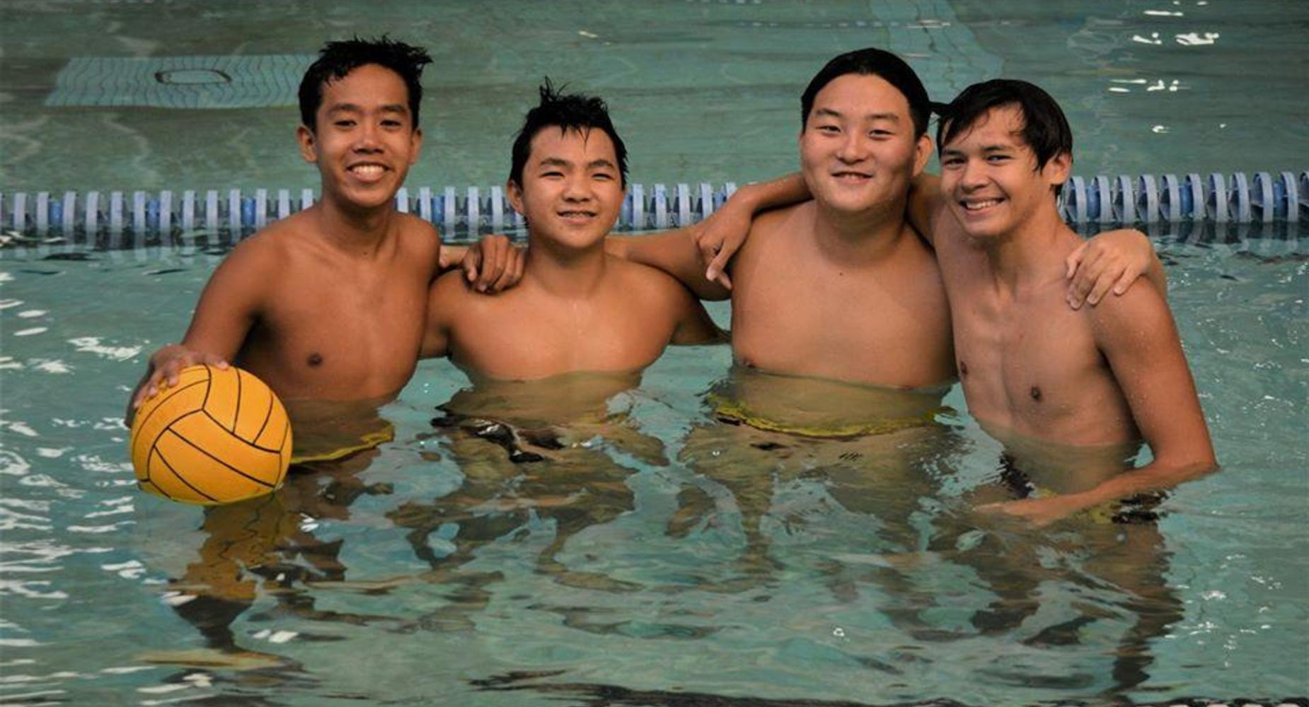 boys waterpolo
