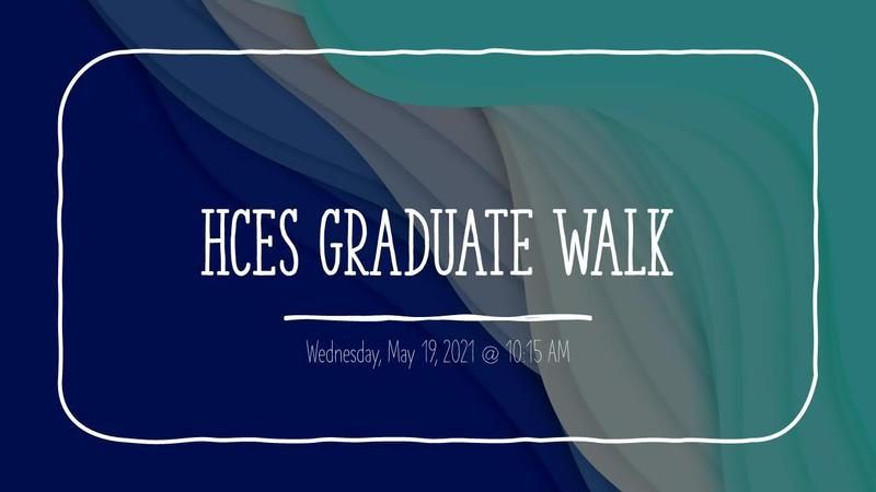 graduate walk