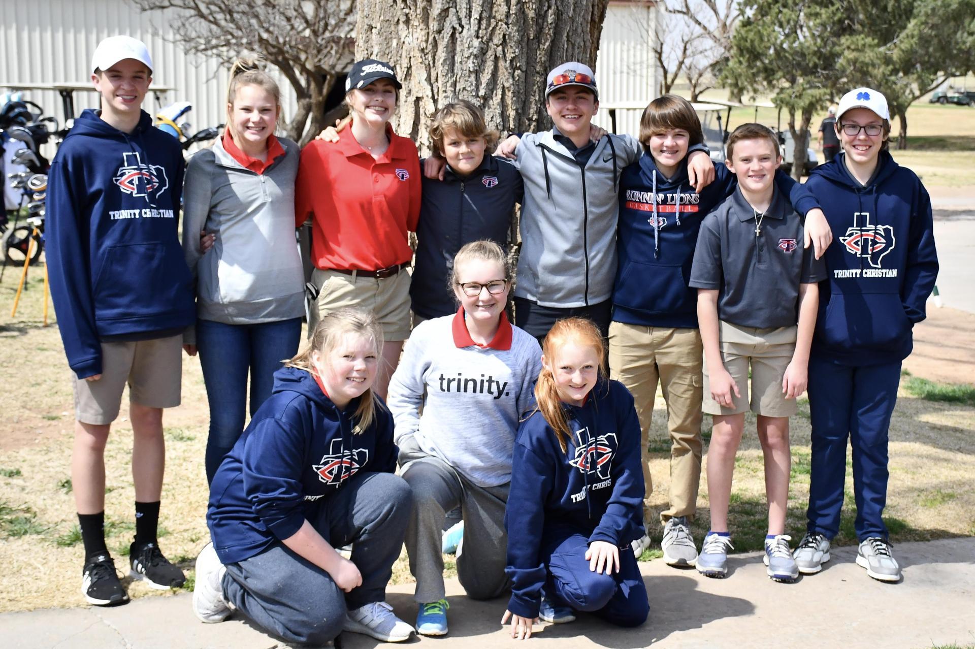 middle school golf team