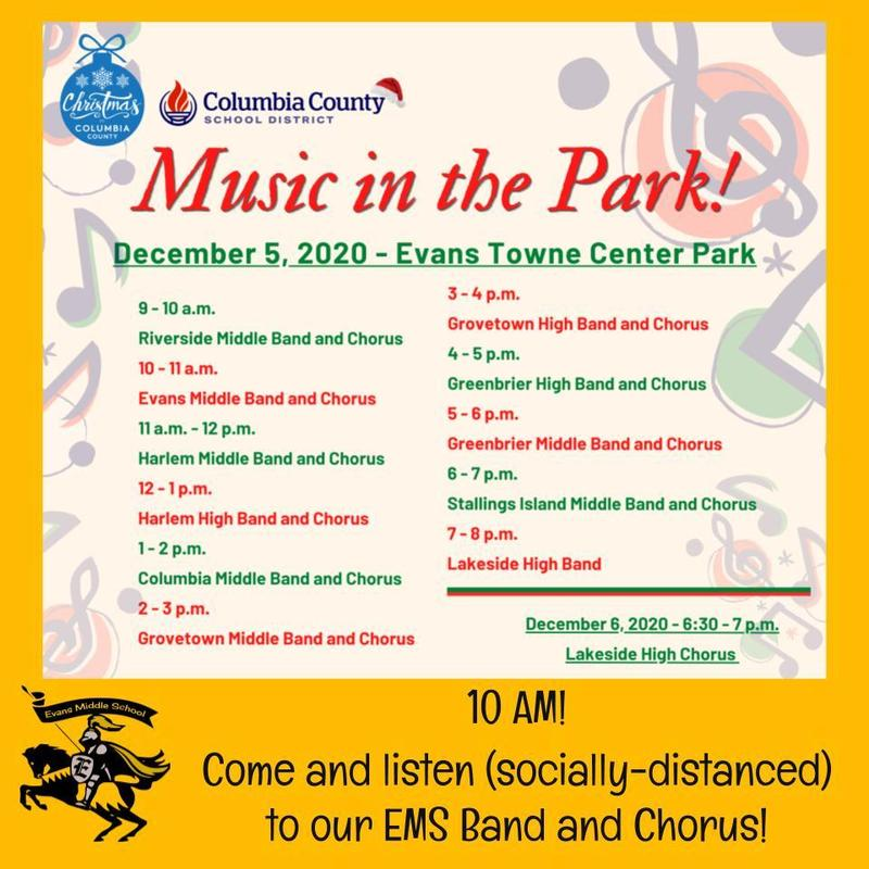 EMS Music in the Park