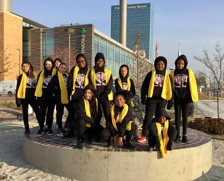 Picture of NSCW dancers at Promenade Park.