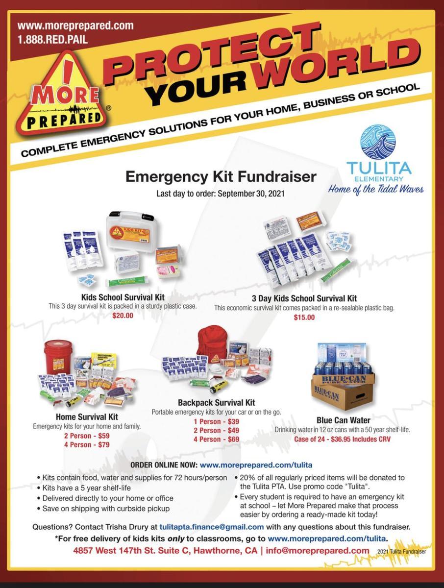 More Prepared Emergency Kits