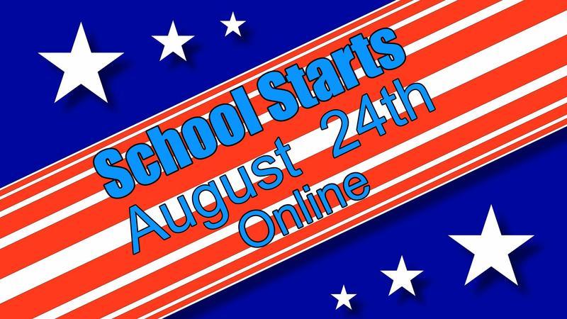 School Starts Aug 24th