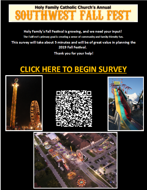SouthWest Fall Festival Survey Featured Photo