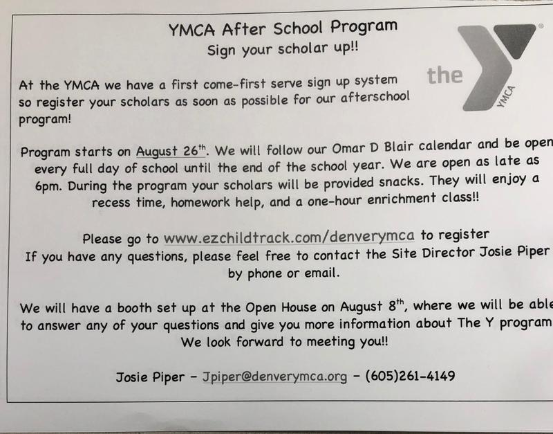 YMCA after school program Featured Photo