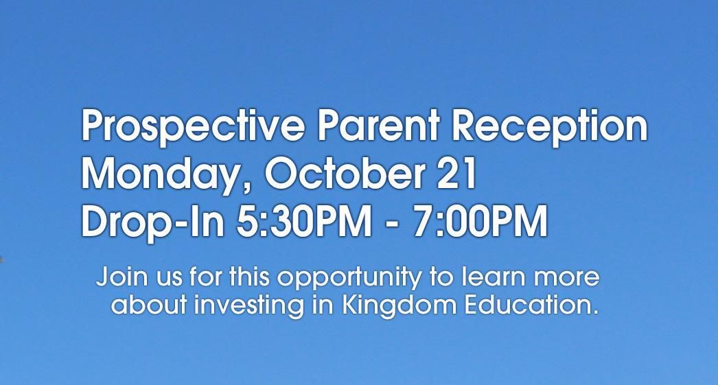 Join us for a Prospective Parent Reception Image