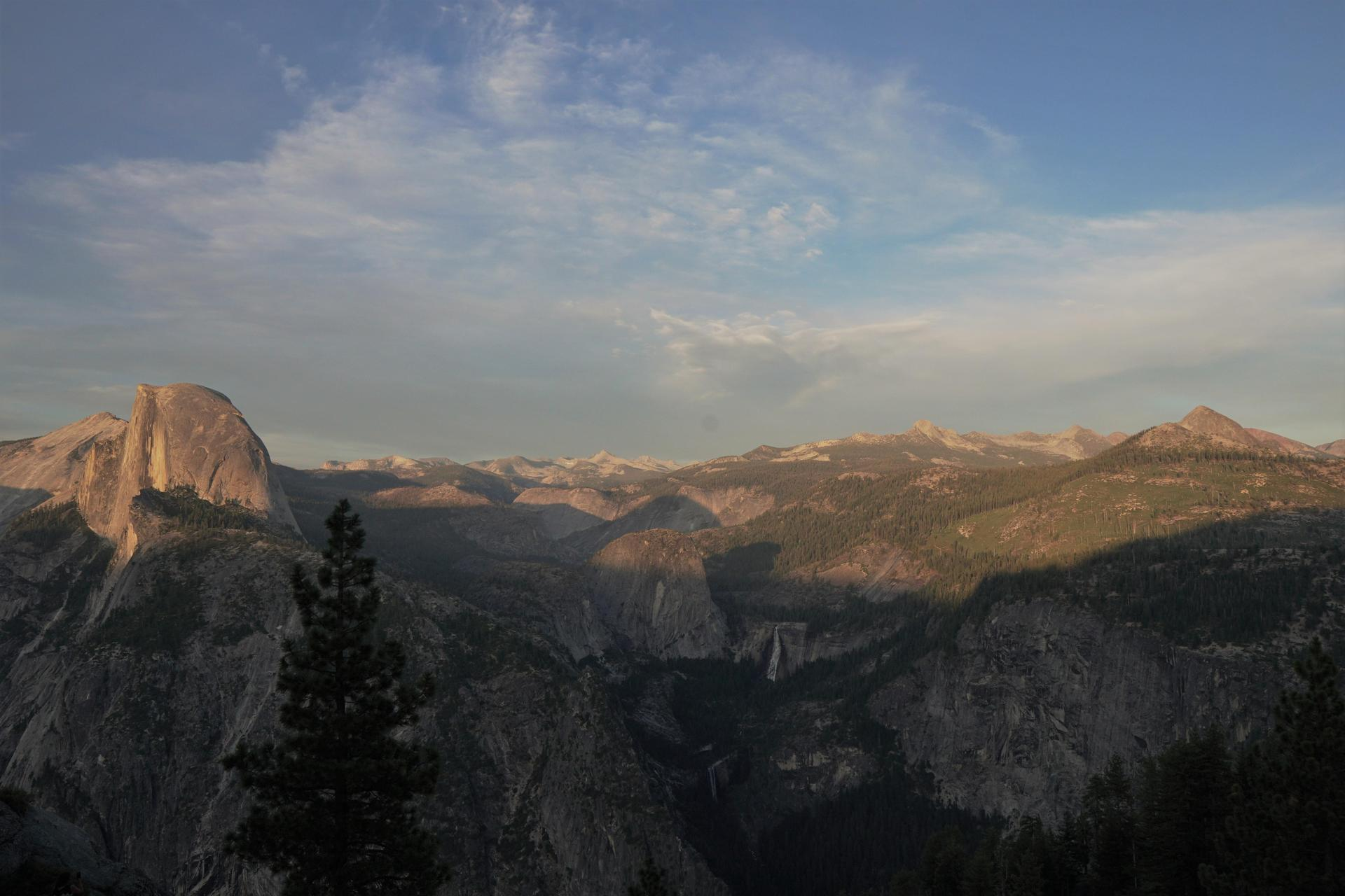 Views from Yosemite National Park