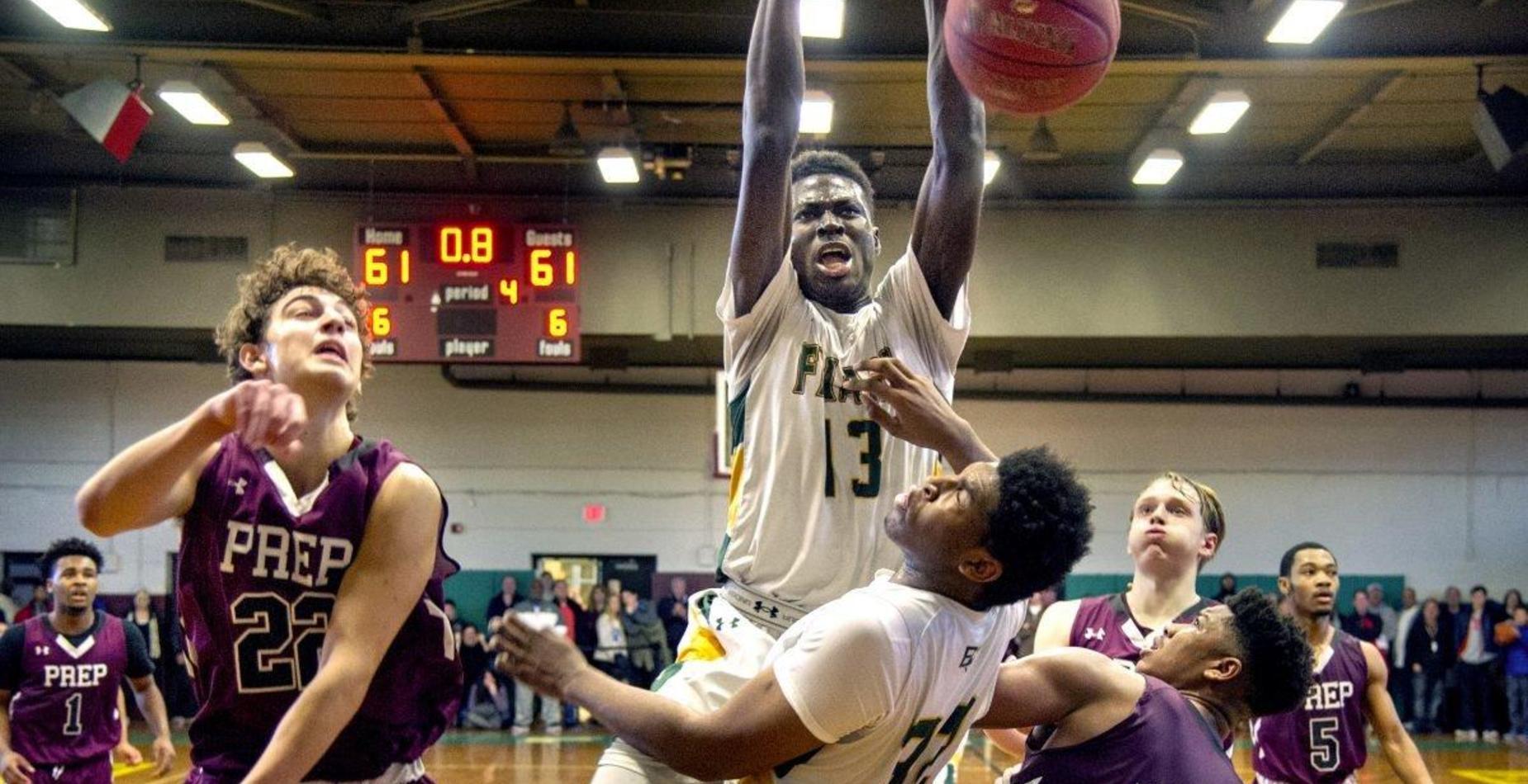 Ajiri Dunking Basketball
