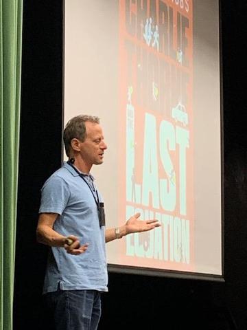 Author Stuart Gibbs