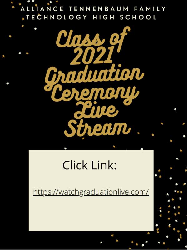 Graduation Live Stream Link/ Enlace de transmisión en vivo de Graduación Thumbnail Image
