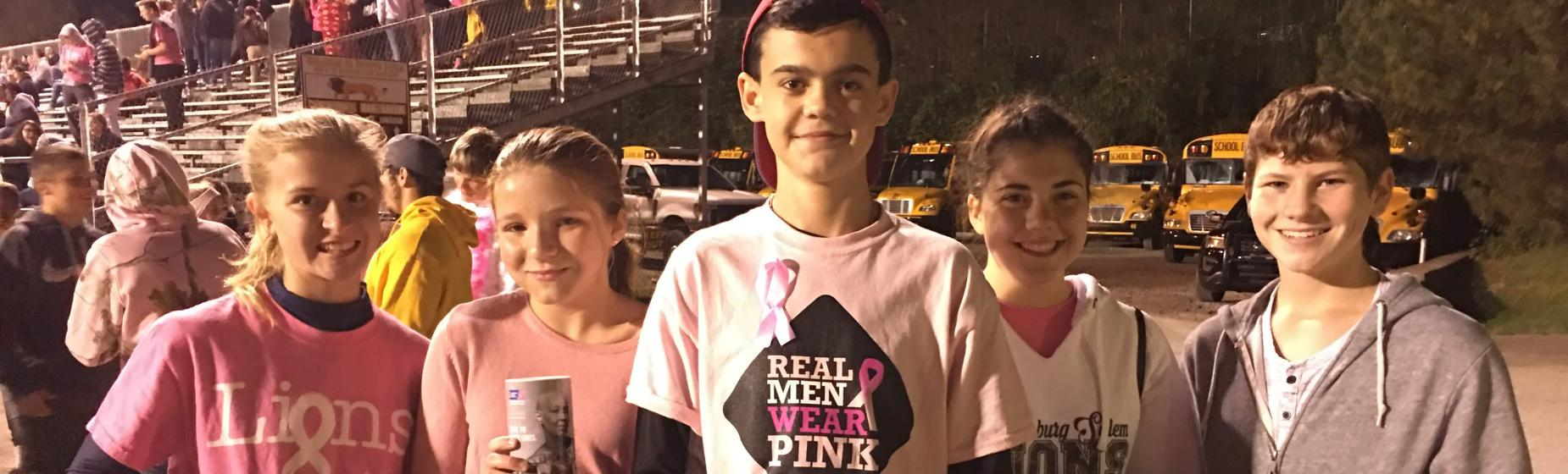 Pink out