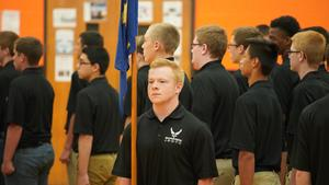 AFJROTC Mass Formation a Success