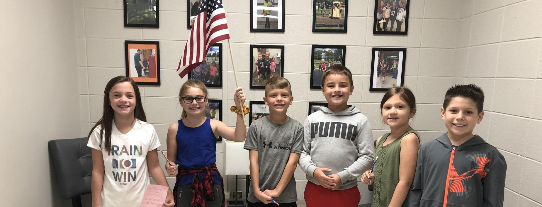Honoring the flag at CCES