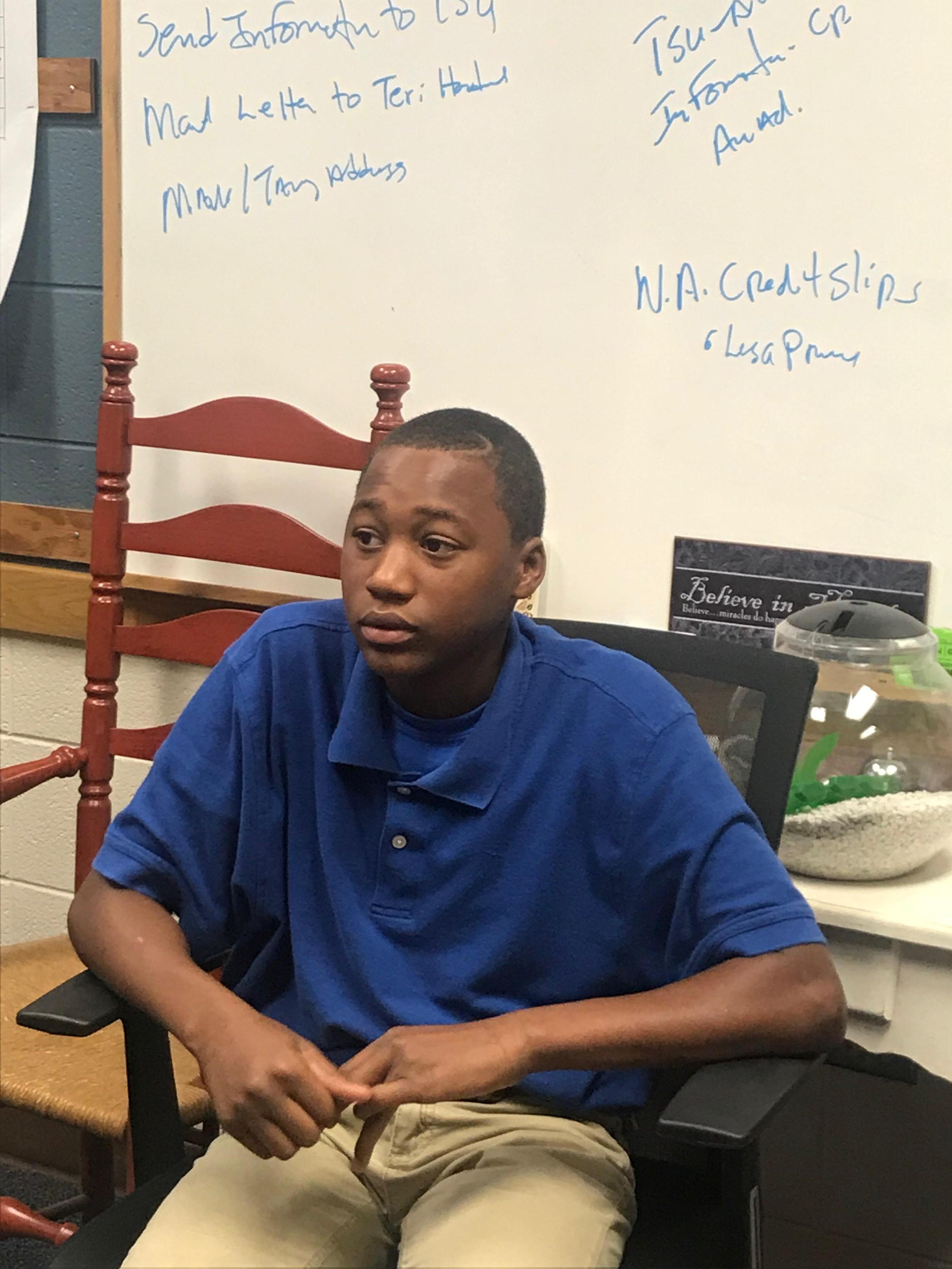 Sept 11 Essay Contest student winner