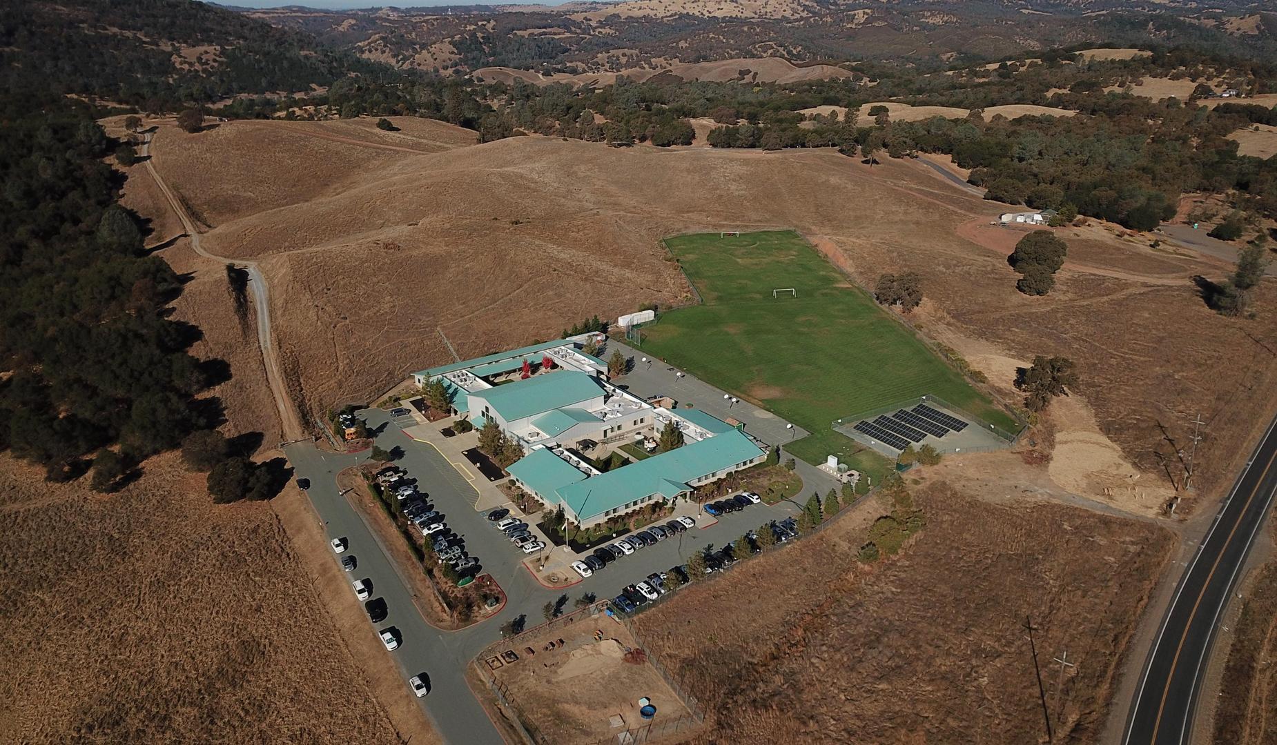 Arial photo of Mountain Oaks