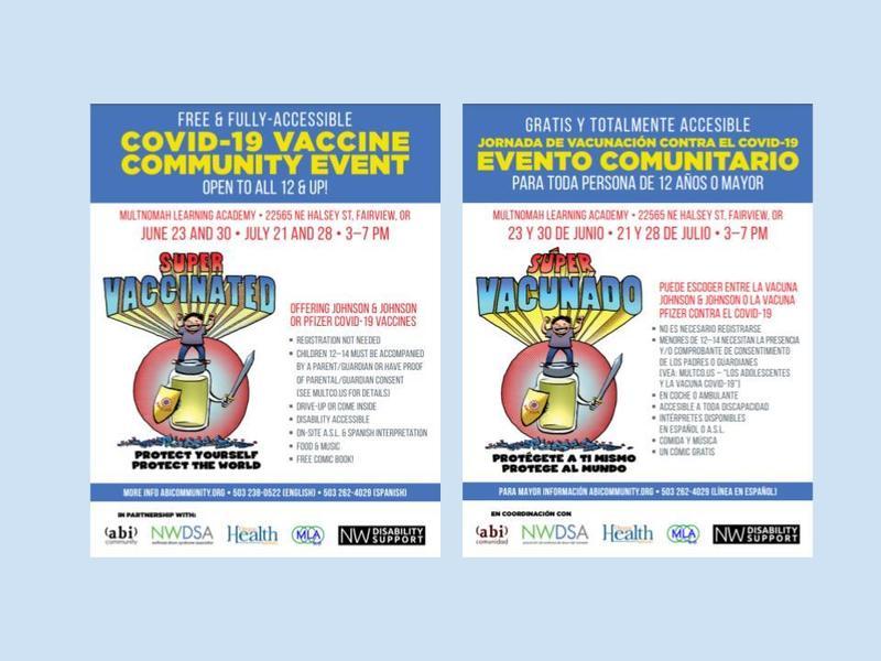 Covid-19 Vaccine Community Event Featured Photo