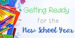 Getting Ready for a New School Year! Featured Photo