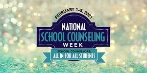 National School Counseling Week logo