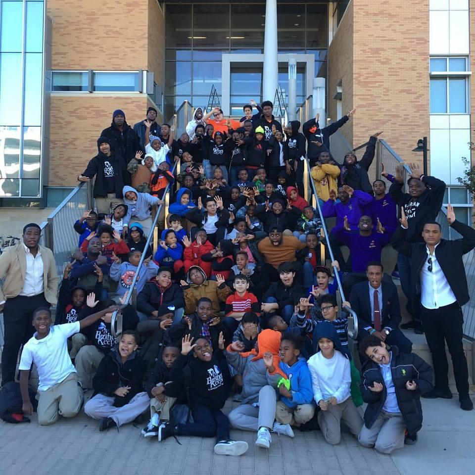 My Brother Keeper Trip to the University of North Texas