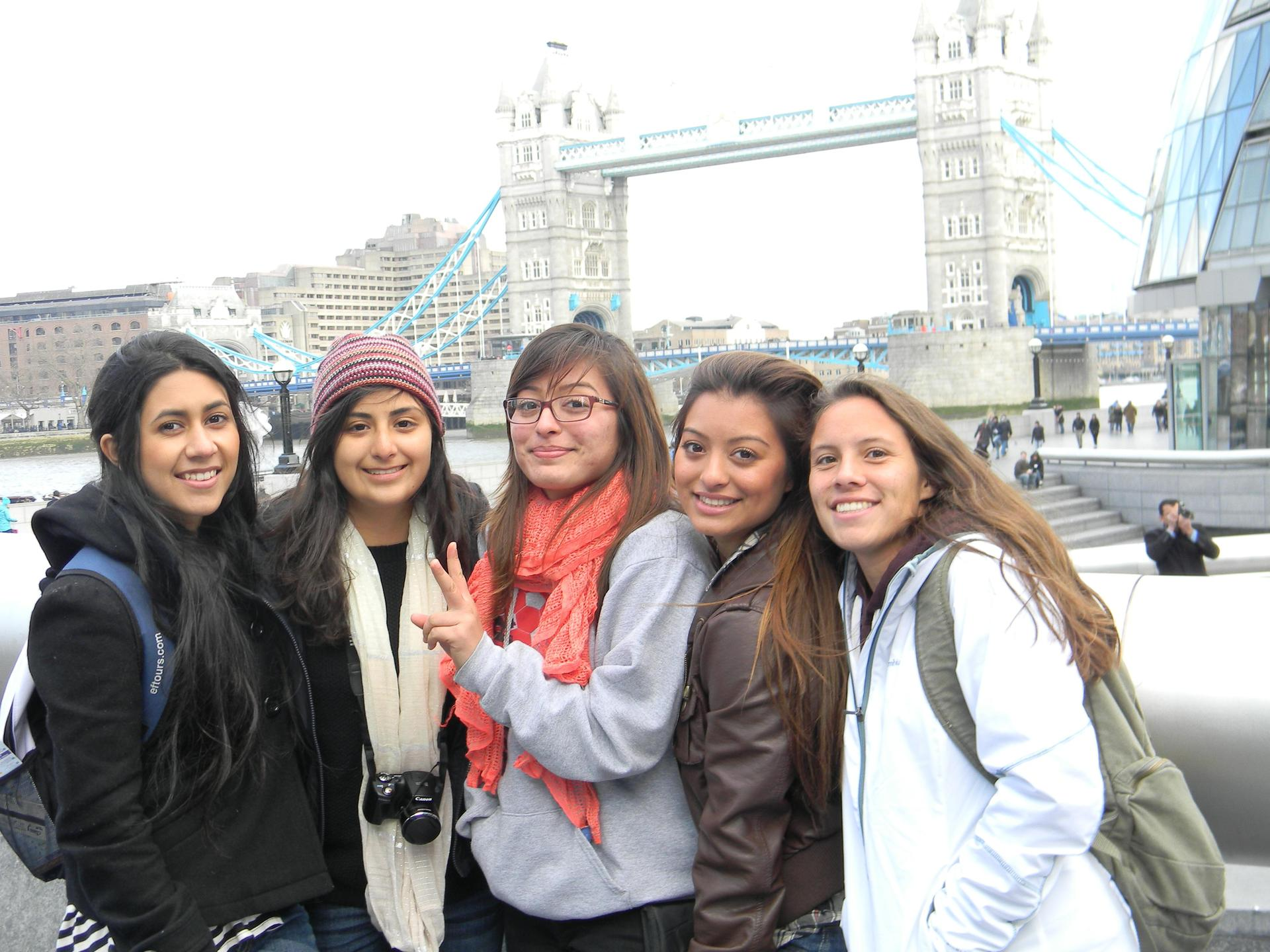 Great Books students in London, England