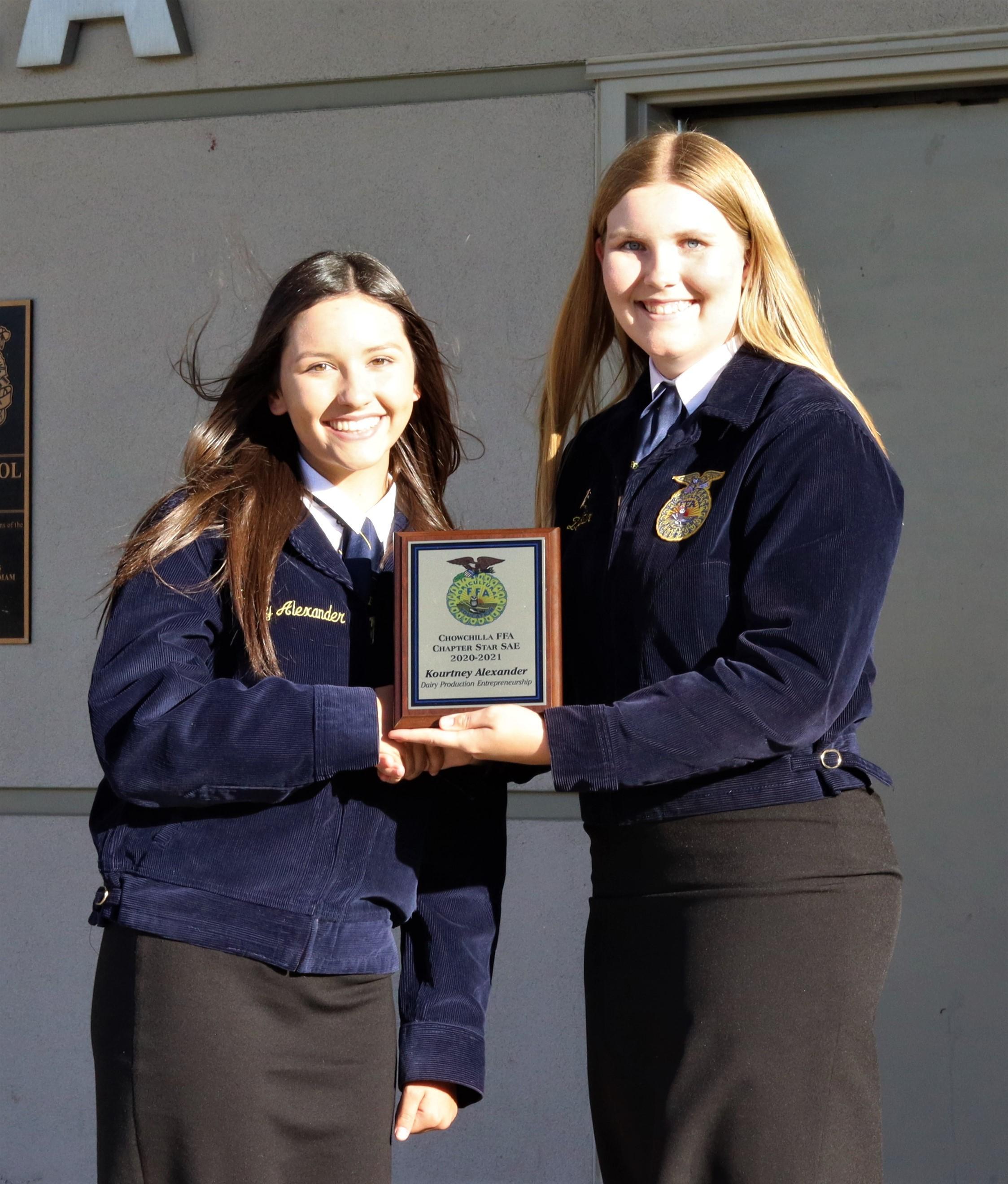 FFA award winners