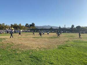 Flag Football Playoff Game Against Monte Vista