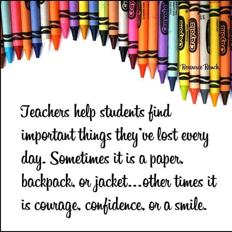 A teacher sentiment that I do every day.