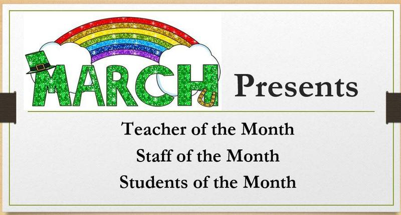 March honorees