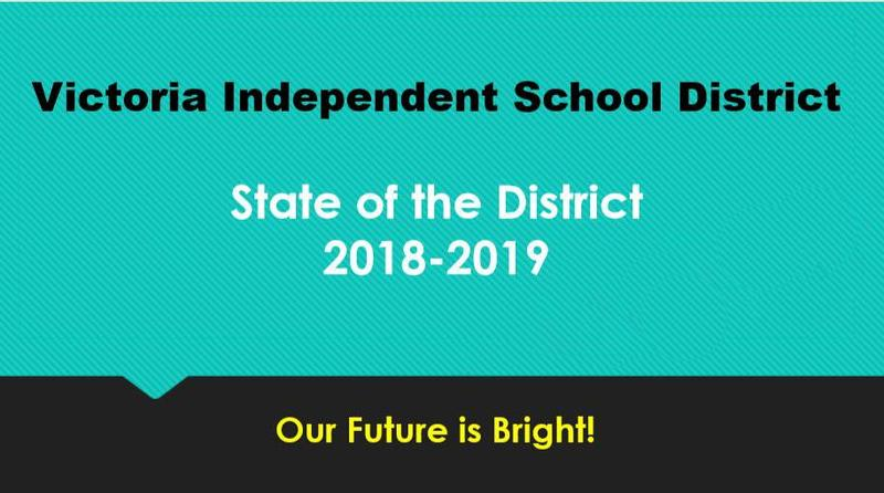 Victoria ISD State of the District Presentation Thumbnail Image
