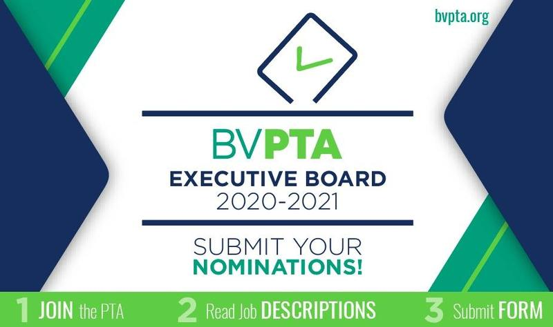 Nominations OPEN for the 2020-2021 BV PTA Executive Board! Featured Photo