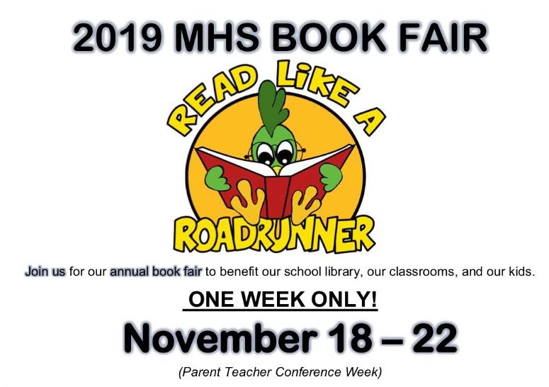 Book Fair (during Parent Teacher Conf Wk) - Nov. 18-22 Featured Photo